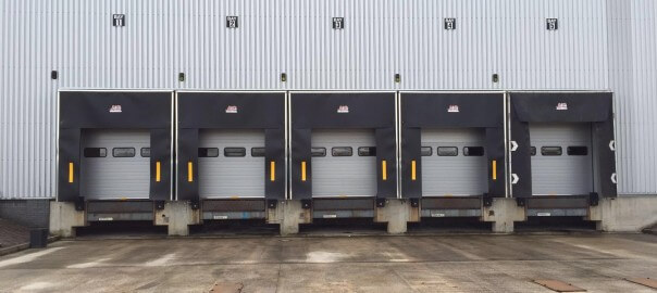 loading bay systems and dock shelter