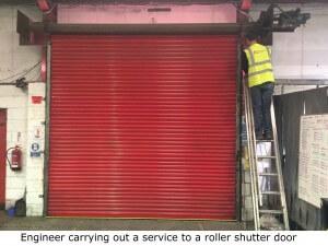 Roller shutter maintenance man in Sheffield